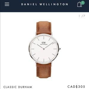 Daniel Wellington classic Durham silver watch